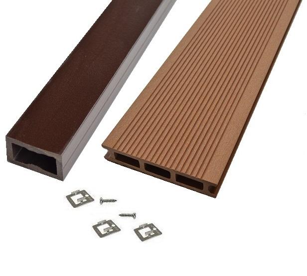 kit terrasse bois composite teak mdsa france. Black Bedroom Furniture Sets. Home Design Ideas